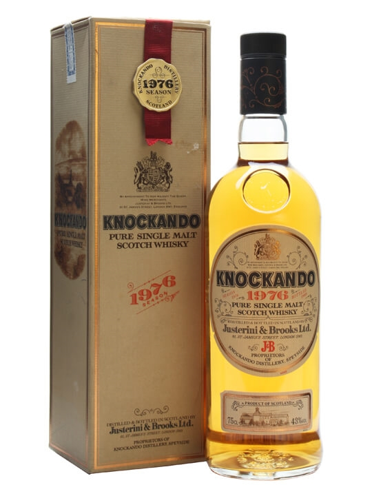 Knockando 1976 / Bot.1989 Speyside Single Malt Scotch Whisky