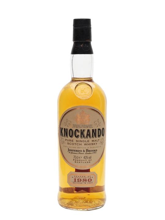 Knockando 1980 / Bot.1995 Speyside Single Malt Scotch Whisky