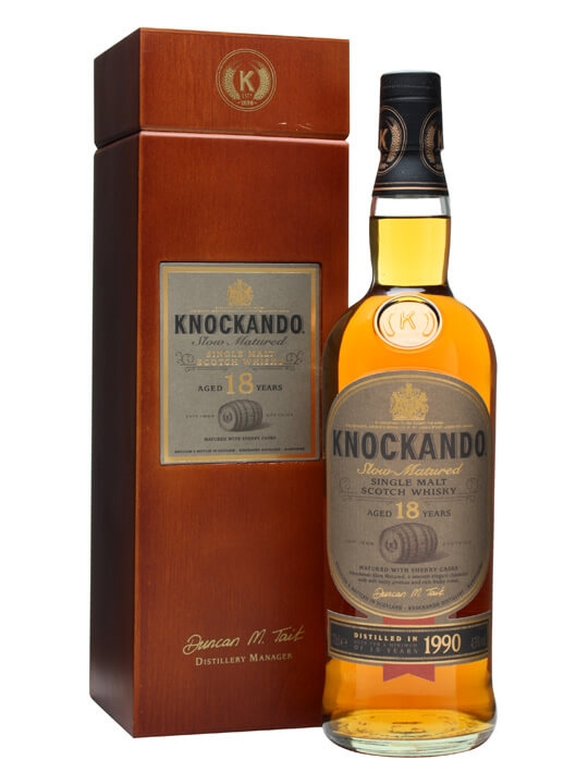 Knockando 1990 / 18 Year Old Speyside Single Malt Scotch Whisky