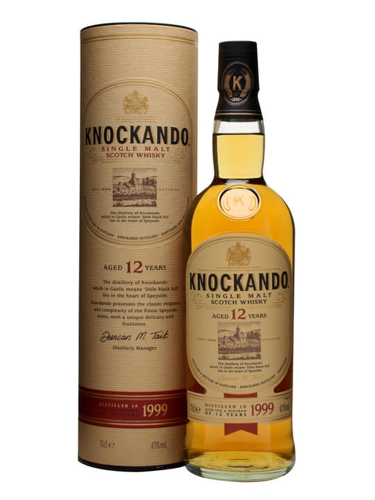 Knockando 1999 / 12 Year Old Speyside Single Malt Scotch Whisky