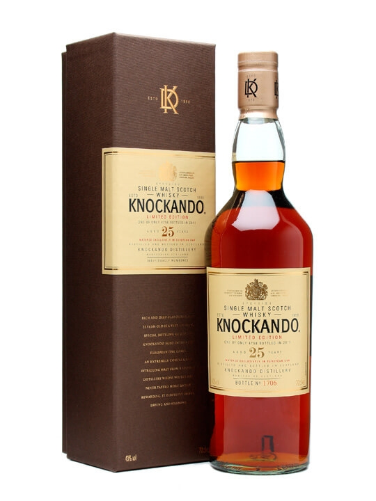 Knockando 25 Year Old / Special Releases / Bot.2011 Speyside Whisky