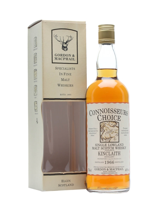 Kinclaith 1966 / Connoisseurs Choice Lowland Single Malt Scotch Whisky