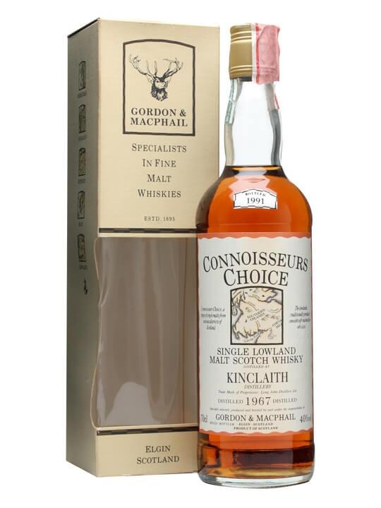 Kinclaith 1967 / Bot.1991 / Connoisseurs Choice Lowland Whisky
