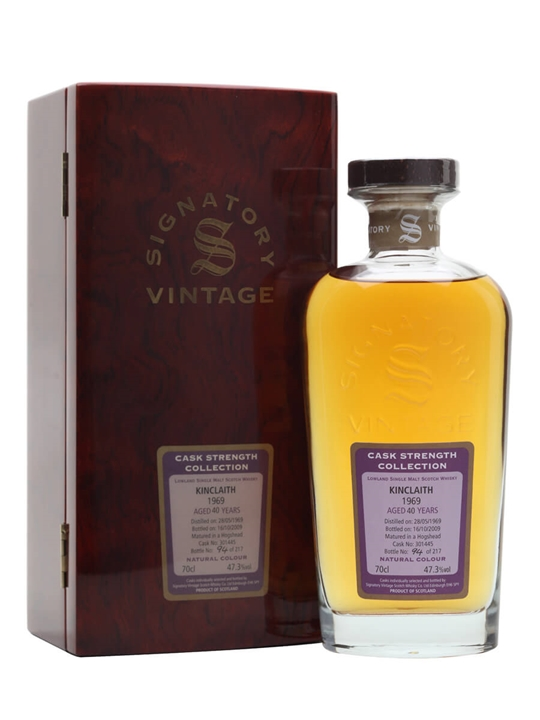 Kinclaith 1969 / 40 Year Old / Signatory Lowland Whisky