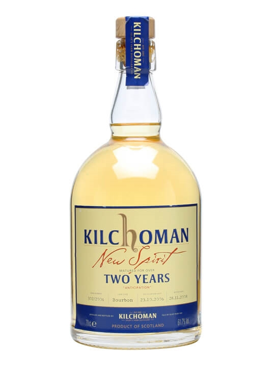 Kilchoman 2 Year Old Spirit / Anticipation / Bot.2008 Islay Whisky