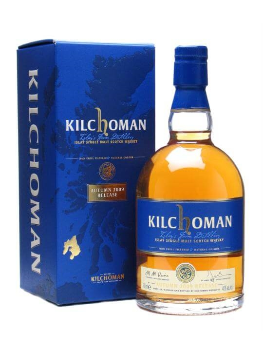 Kilchoman Autumn 2009 Release Islay Single Malt Scotch Whisky
