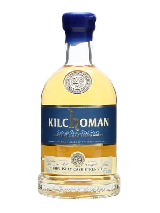 Kilchoman 100% Islay Cask Strength / Inaugural Release Islay Whisky