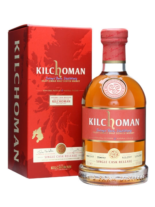 Kilchoman 2007 / Single Sherry Cask 448/2007 Islay Whisky