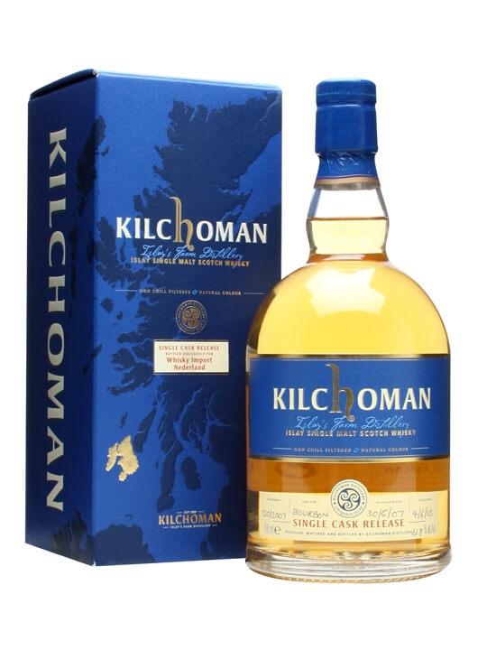 Kilchoman 2007 / Whisky Import Nederland Islay Whisky
