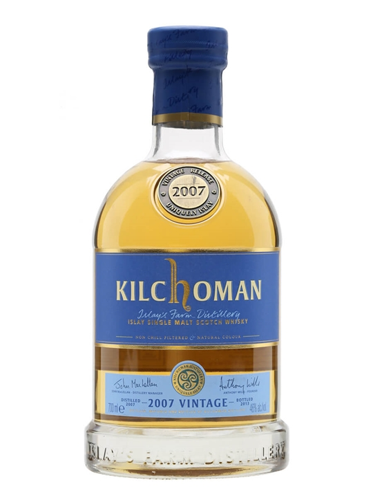 Kilchoman 2007 Vintage / Bot. 2013 Islay Single Malt Scotch Whisky