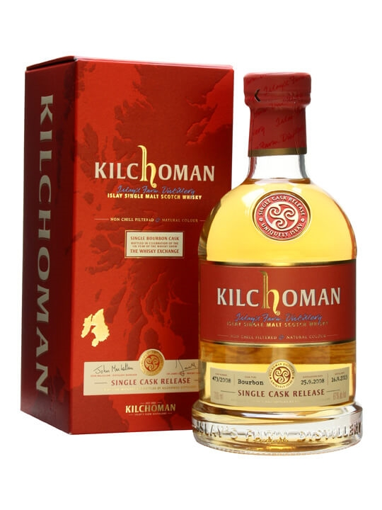 Kilchoman 2008 / Bourbon Cask For The Whisky Show 2013 Islay Whisky