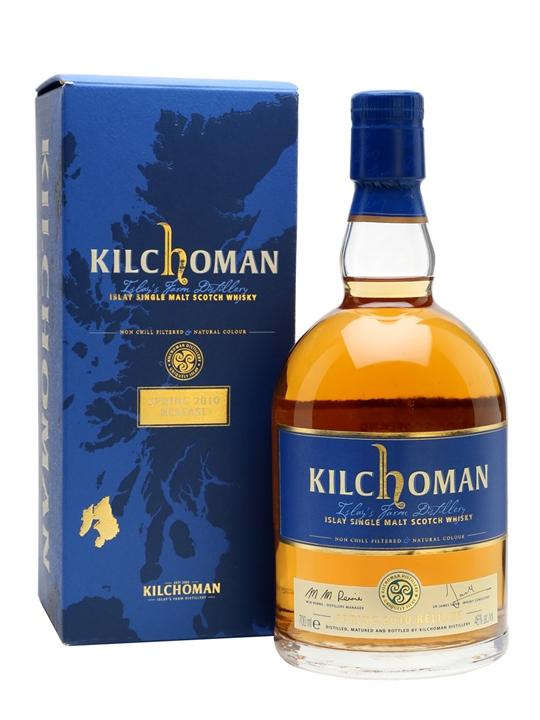 Kilchoman Spring 2010 Release Islay Single Malt Scotch Whisky