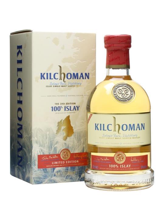 Kilchoman 100% Islay / 3rd Edition Islay Single Malt Scotch Whisky