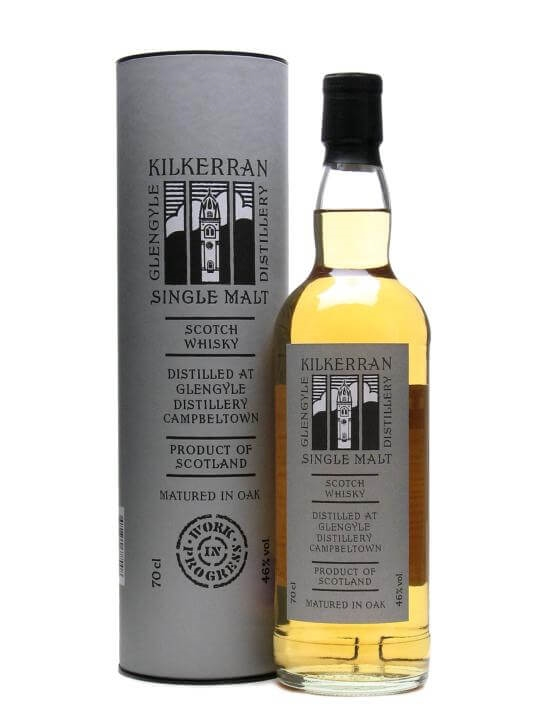 Kilkerran (glengyle) Work In Progress 2 Campbeltown Whisky