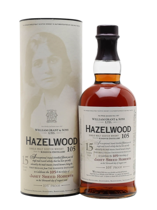 Hazelwood 105' (kinninvie) 1990 / 15 Year Old Speyside Whisky