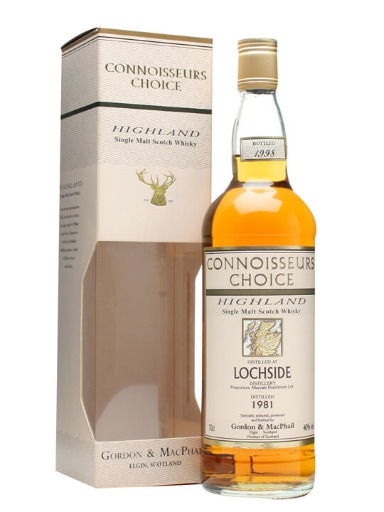 Lochside 1981 / Bot.1998 / Connoisseurs Choice Highland Whisky