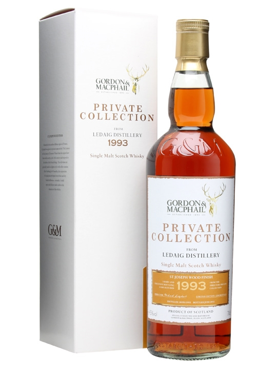 Ledaig 1993 / 19 Year Old / Private Collection Island Whisky
