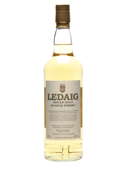 Ledaig Peated Island Single Malt Scotch Whisky