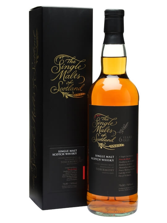 Ledaig (tobermory) 2005 / 6 Year Old / Sherry Butt Island Whisky