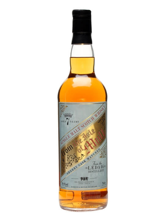 Ledaig 7 Year Old / Sherry Cask / Twe Retro Label Island Whisky