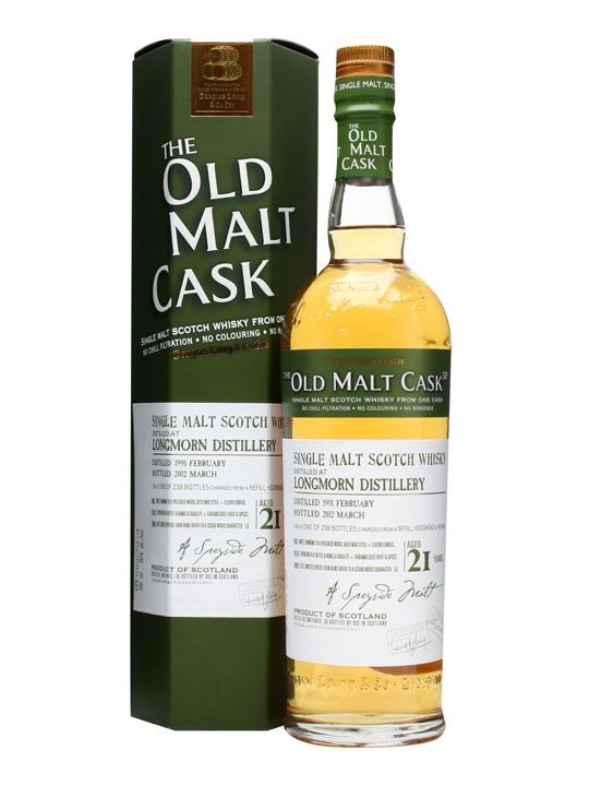 Longmorn 1991 / 21 Year Old / 50% / Old Malt Cask #8256 Speyside Whisky