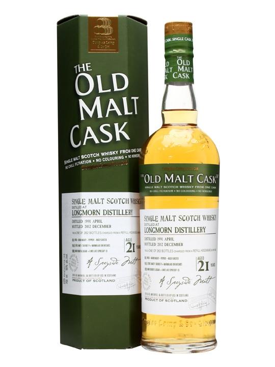Longmorn 1991 / 21 Year Old / Old Malt Cask #9233 Speyside Whisky