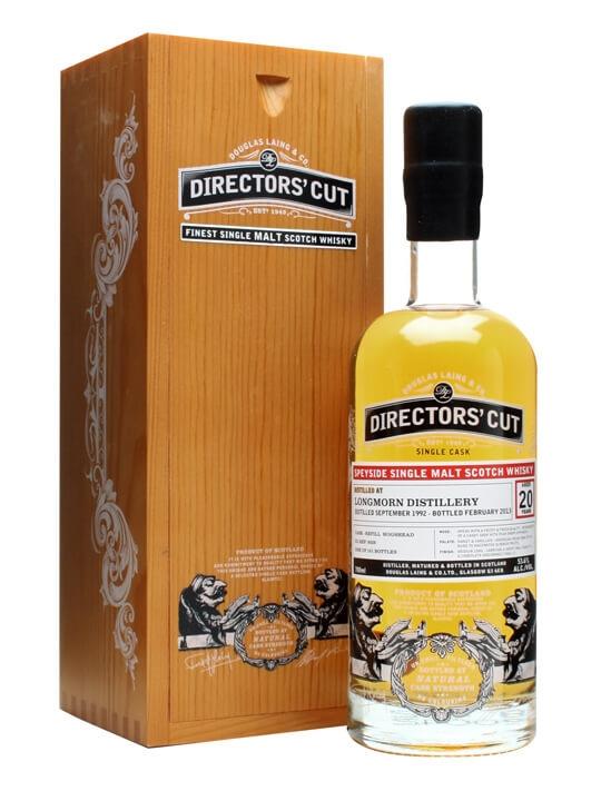 Longmorn 1992 / 20 Year Old / Directors' Cut / Cask #9528 Speyside Whisky