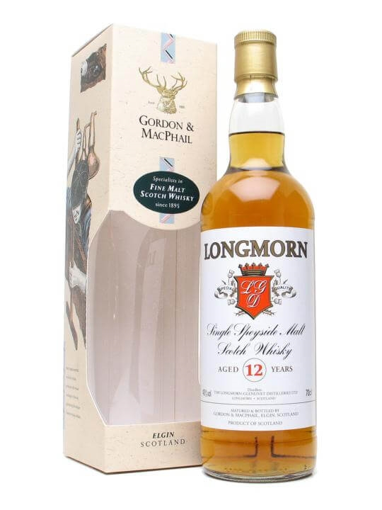 Longmorn 12 Year Old / Gordon & Macphail Speyside Whisky