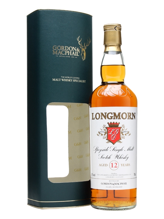 Longmorn 12 Year Old / Gordon & Macphail Speyside Whisky