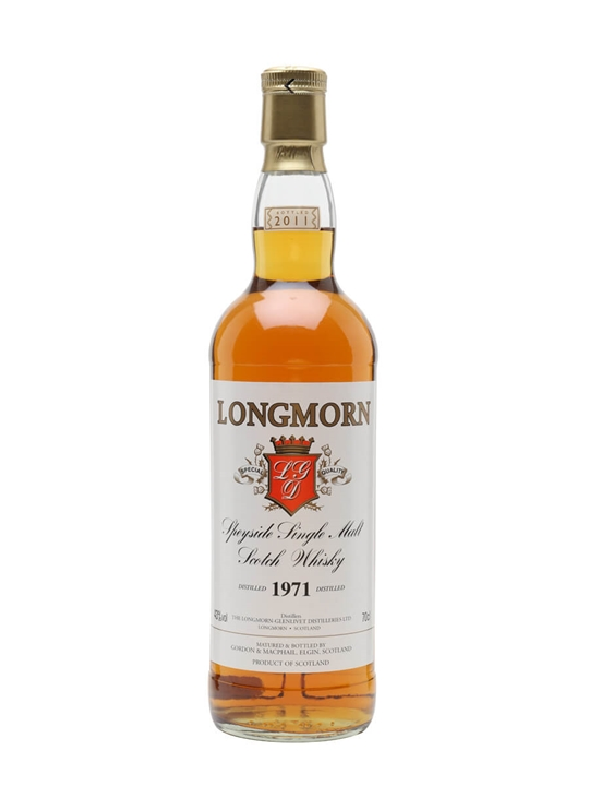 Longmorn 1971 Speyside Single Malt Scotch Whisky