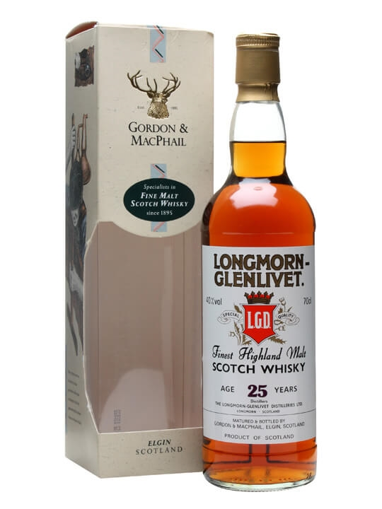 Longmorn 25 Year Old Speyside Single Malt Scotch Whisky