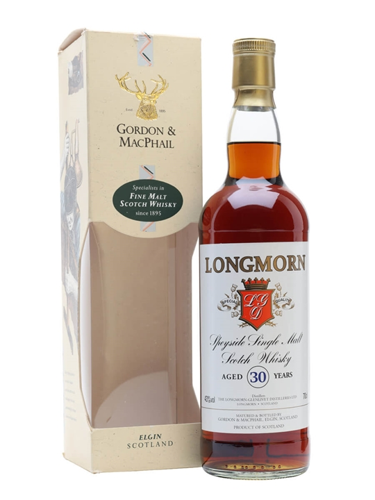 Longmorn 30 Year Old Speyside Single Malt Scotch Whisky