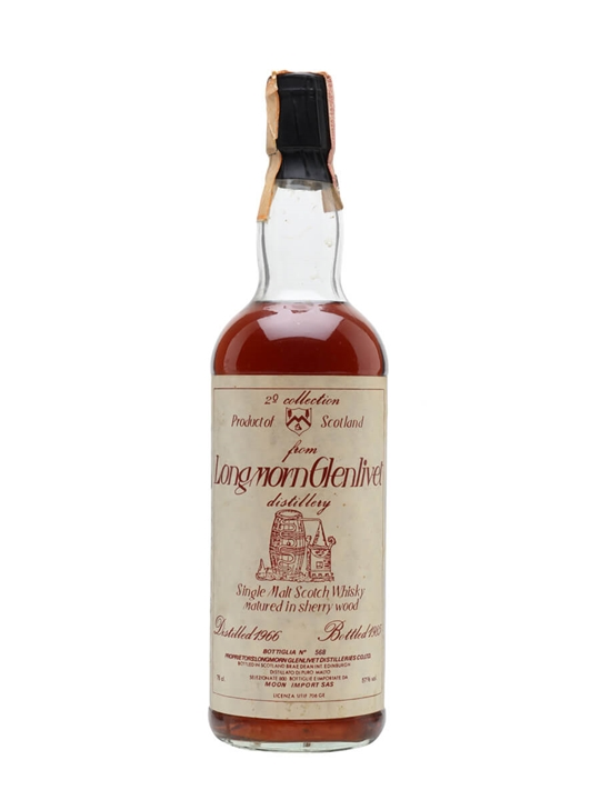 Longmorn-glenlivet 1966 / Sherry Cask / Moon Imports Speyside Whisky