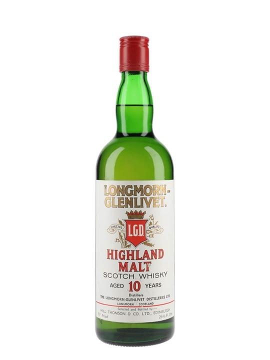Longmorn-glenlivet 10 Year Old / Bot 1970's Speyside Whisky