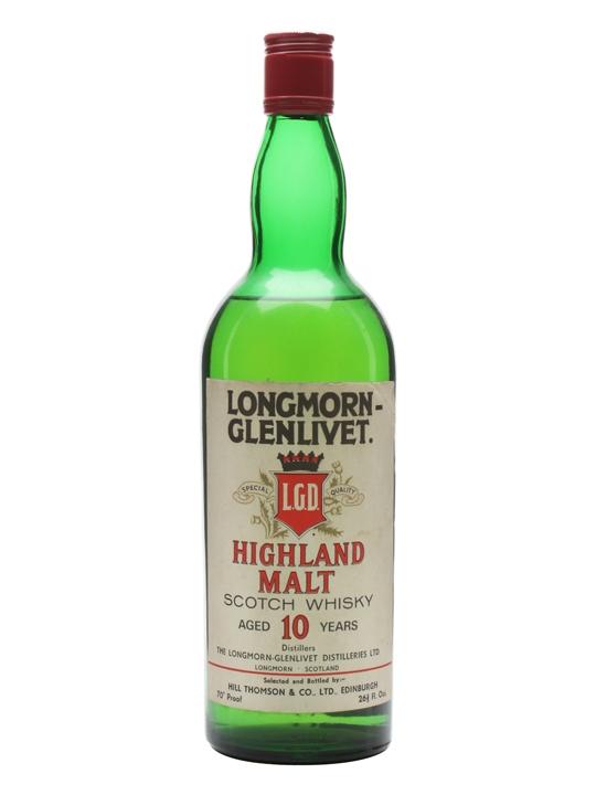 Longmorn-glenlivet 10 Year Old / Bot.1970s Speyside Whisky