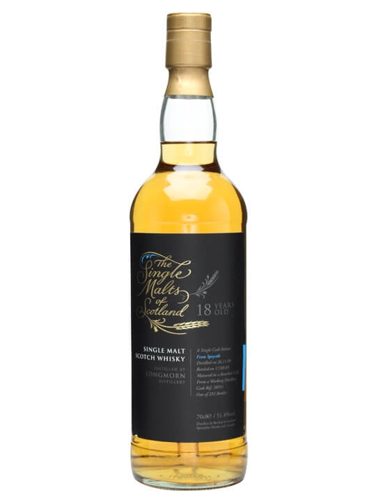 Longmorn 1990 / 18 Year Old / Single Malts Of Scotland Speyside Whisky
