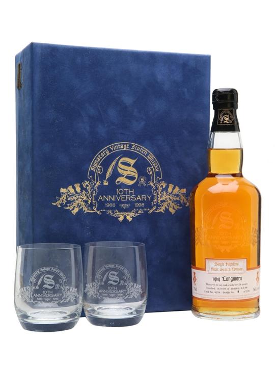 Longmorn 1969 / 28 Year Old / 10th Anniversary Speyside Whisky