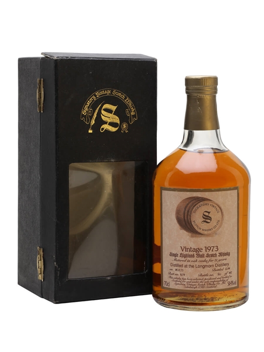 Longmorn 1973 / 21 Year Old / Sherry Butt #9279 / Signatory Speyside Whisky