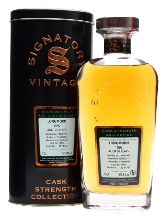 Longmorn 1992 / 20 Year Old / Cask #48490 Speyside Whisky