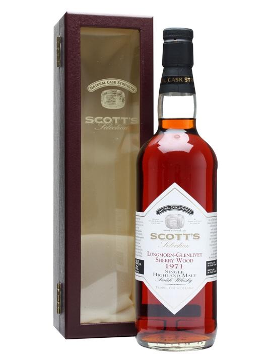 Longmorn-glenlivet 1971 / Sherry Cask Speyside Whisky