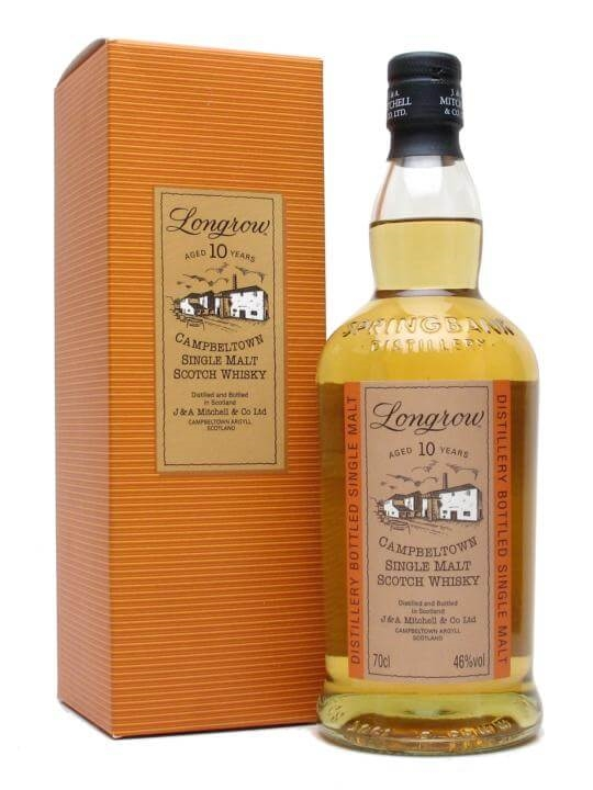 Longrow 10 Year Old Campbeltown Single Malt Scotch Whisky