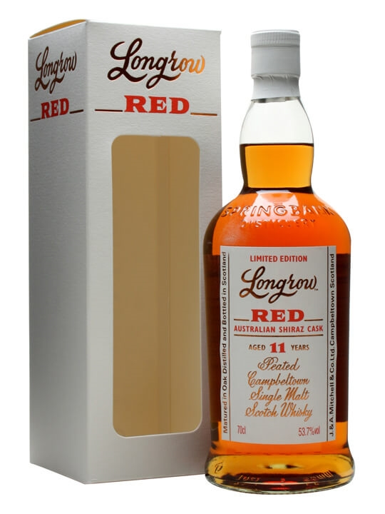 Longrow Red / 11 Year Old / Shiraz Finish Campbeltown Whisky