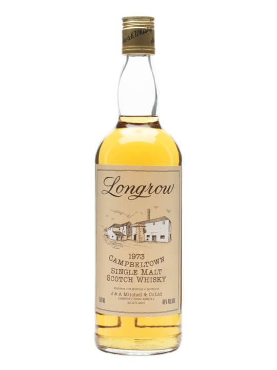 Longrow 1973  Bot.1980s Campbeltown Single Malt Scotch Whisky