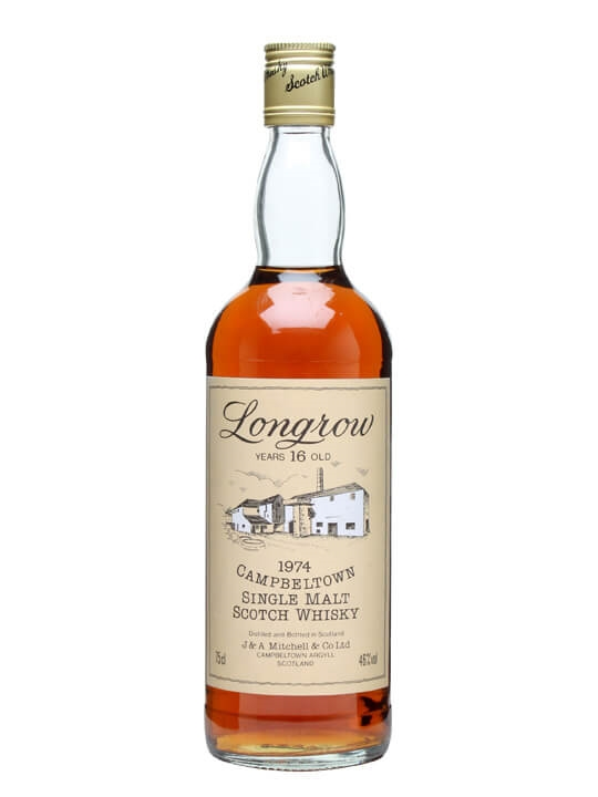 Longrow 1974  16 Year Old  Sherry Cask Campbeltown Whisky