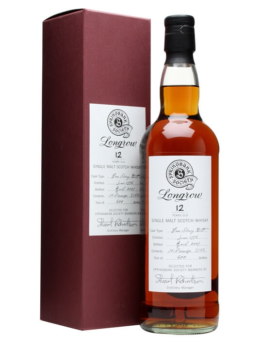 Longrow 1996 / 12 Year Old / Fino Sherry Butt Campbeltown Whisky