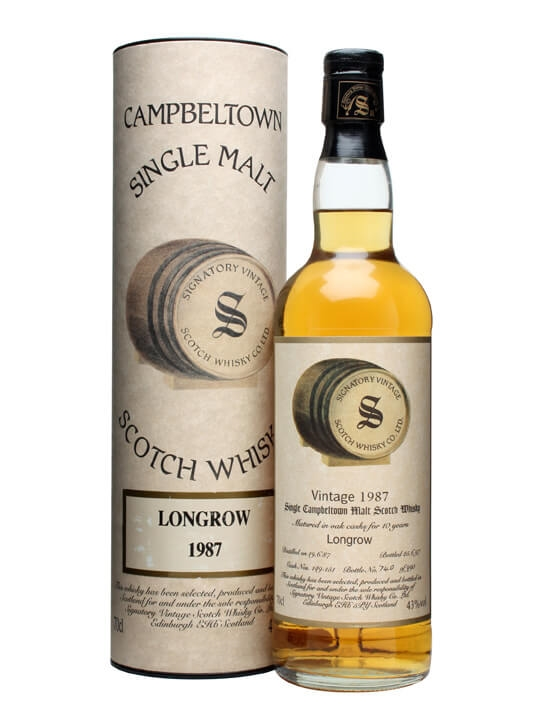 Longrow 1987 / 10 Year Old / Cask #149-51 Campbeltown Whisky