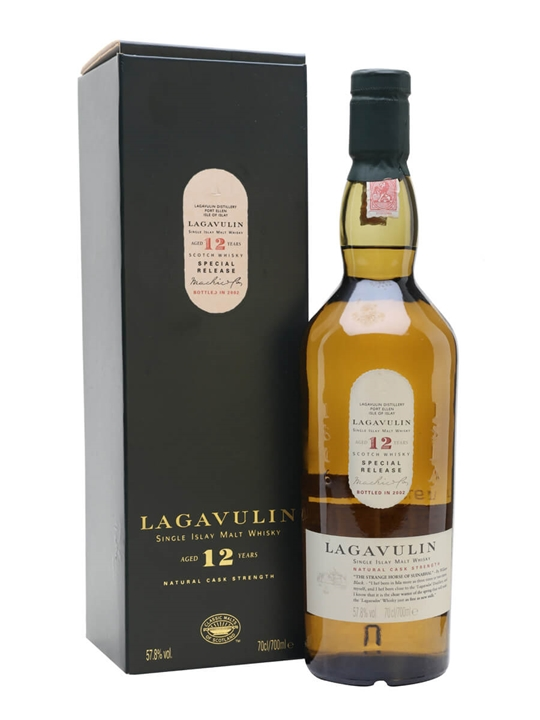 Lagavulin 12 Year Old / Bot.2002 / 2nd Release Islay Whisky