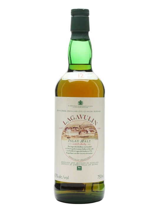 Lagavulin 12 Year Old / Green Glass / Bot.1980s Islay Whisky