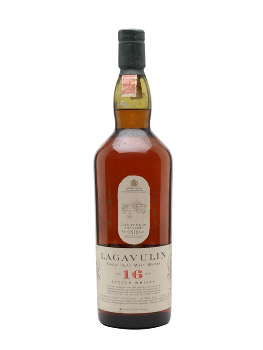 Lagavulin 16 Year Old / White Horse Distillers / Bot.1990s Islay Whisky
