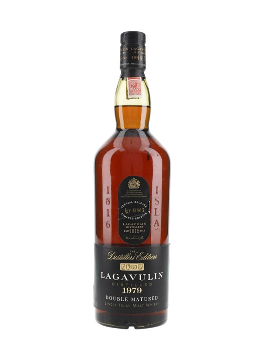 Lagavulin 1979 / Distillers Edition / Litre Islay Whisky